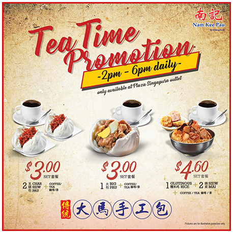 Tea Time Promotion